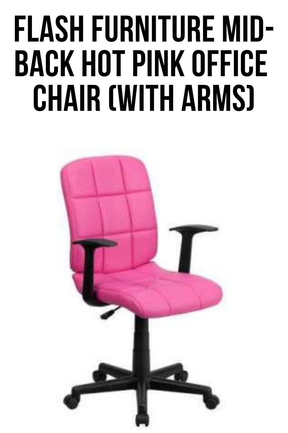 Pink Office Chairs Round Up The Best Pink Desk Chair Desk Chairs Pink Desk Chair
