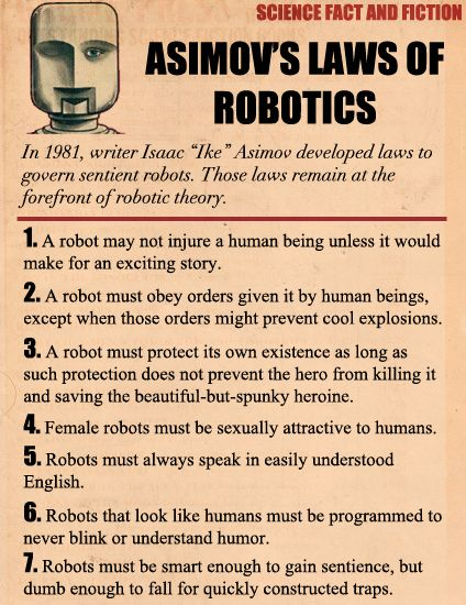 Asimov S Laws Of Robotics Book Stuff By Best Home Business For