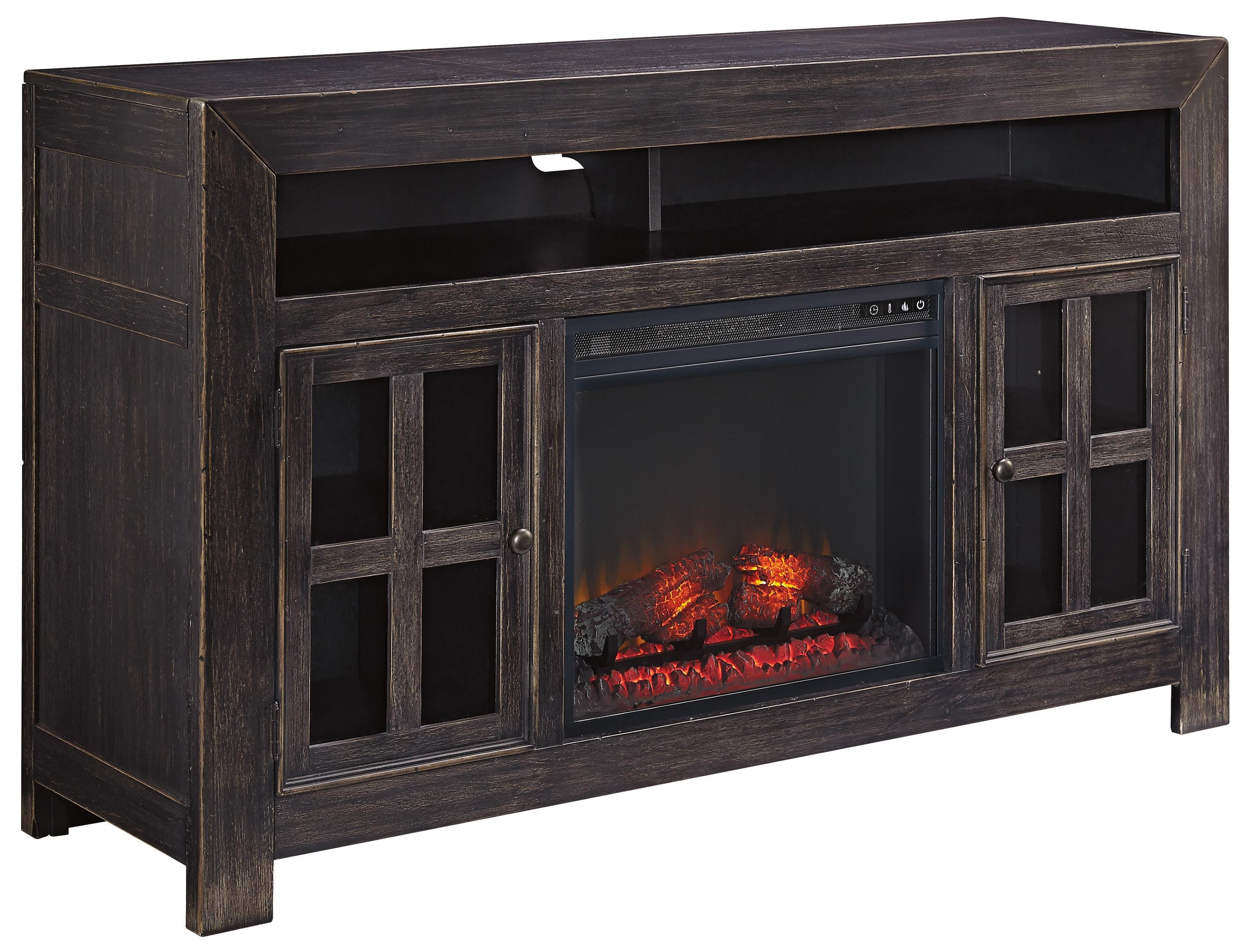 with led tempered embedded insert l glass inserts remote fireplace electric freestanding heater