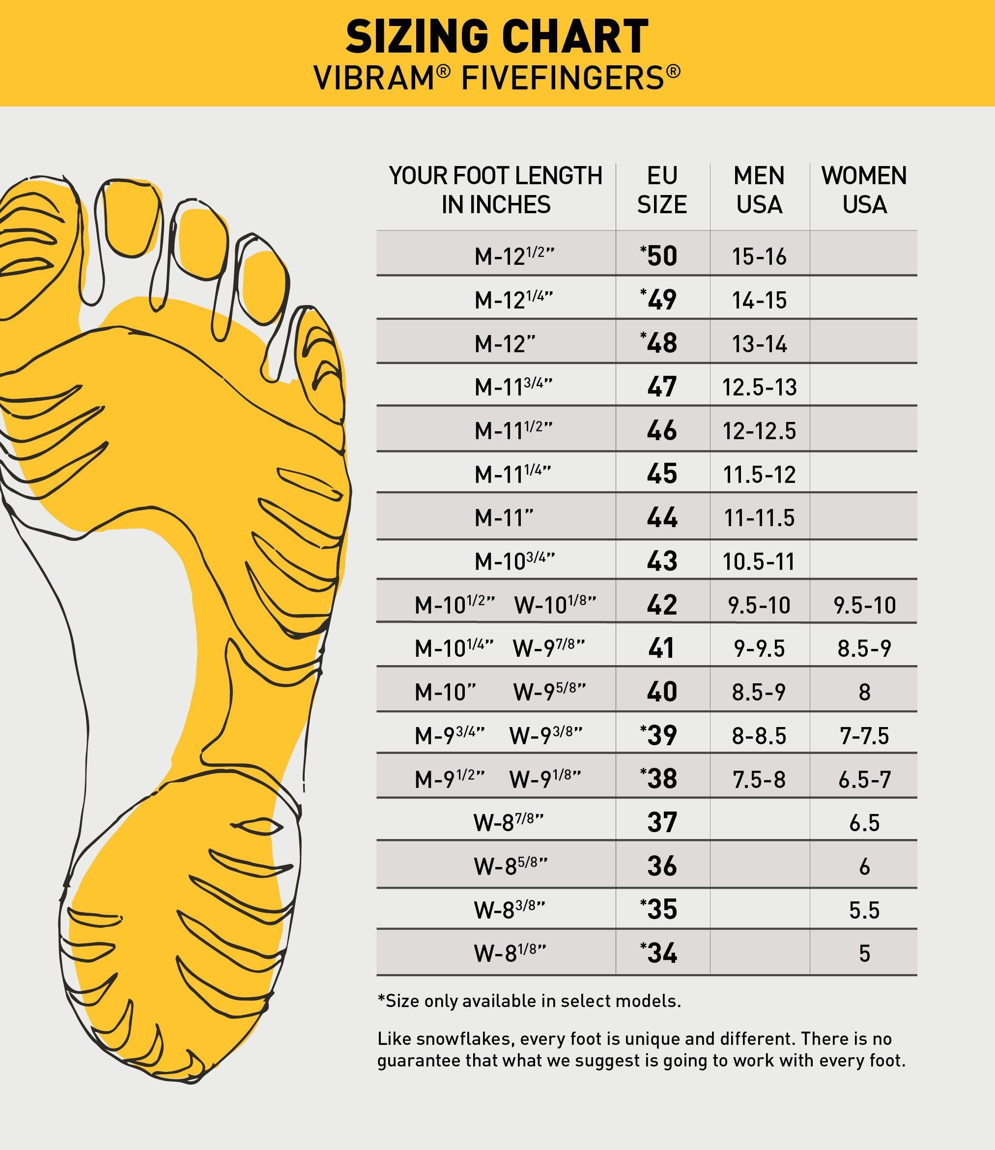 Convenient shoe size guide makes your life easier shoe