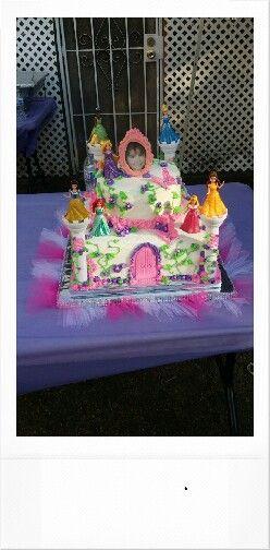 Buttercream princess cake
