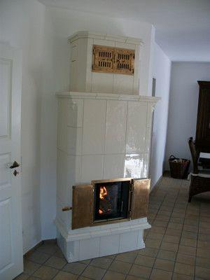 Kachelofen, Kamin, Heizkamin, Grundofen, Säulenofen - pelletofen für wohnzimmer