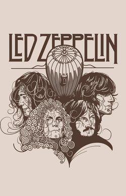 Led Zeppelin t-shirt $30.00