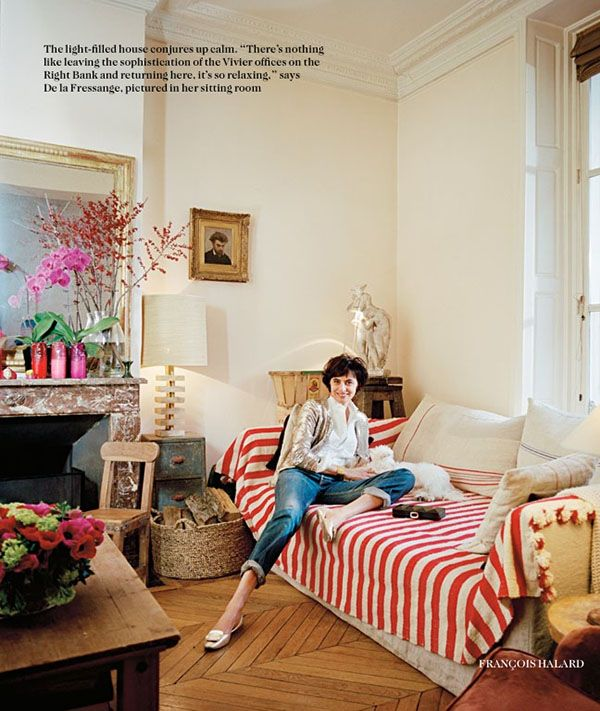 Inès De La Fressange + British Vogue. #obsessed