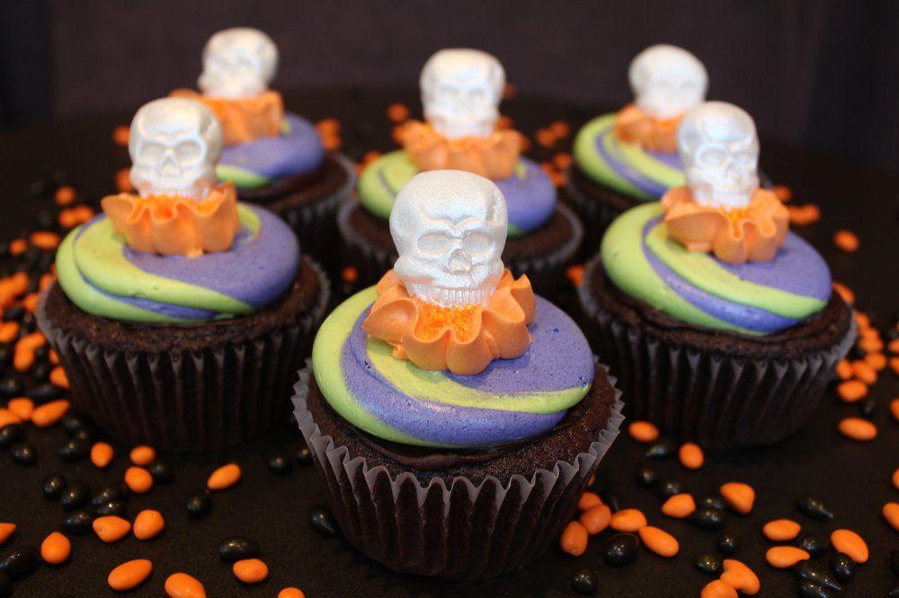 Halloween Cupcakes '11 - Chocolate Marshmallow