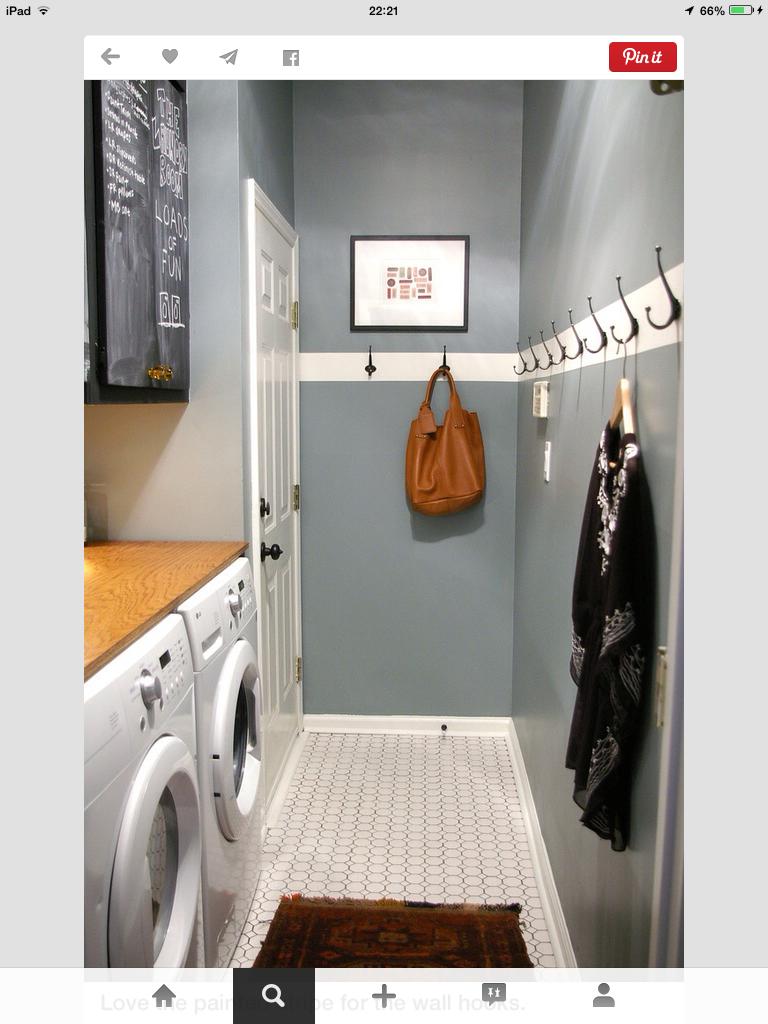 Opruim Tips Mudroom Laundry Room Narrow Laundry Room Stylish Laundry Room