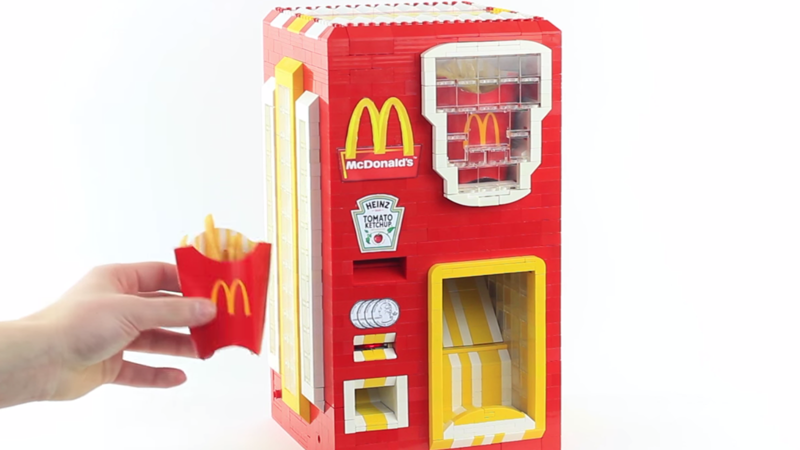 Lego Dispenser of Your Dreams Spits Out McDonald's Fries for $1