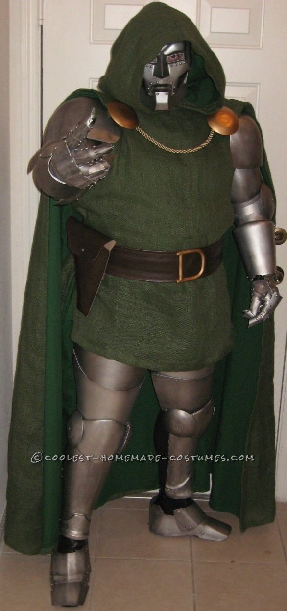 Coolest Homemade Dr. Doom Costume for Convention ...