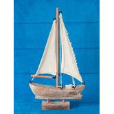 Handcrafted Nautical Sail Boat #birchlane