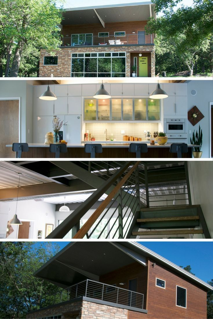 BRIGHT CONTAINER HOUSE Tiny houses Shipping container houses and