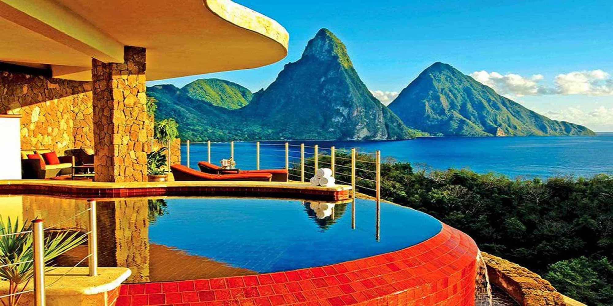 vacation time  Jade mountain Jade mountain st lucia