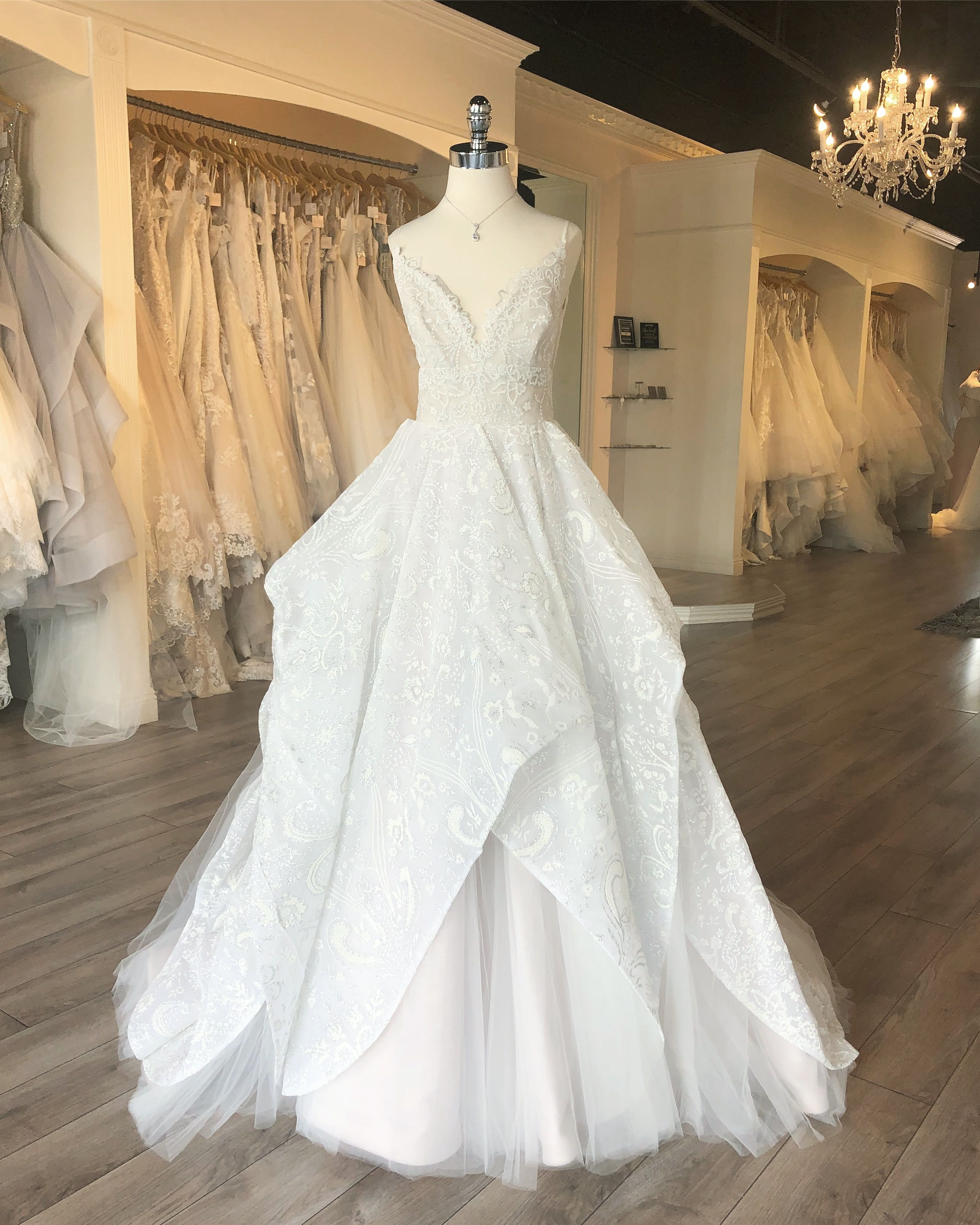419ea2e2a9d New Fall 2018 Hayley Paige Markle Wedding Gown   Only at J Bridal Boutique  in Tucson