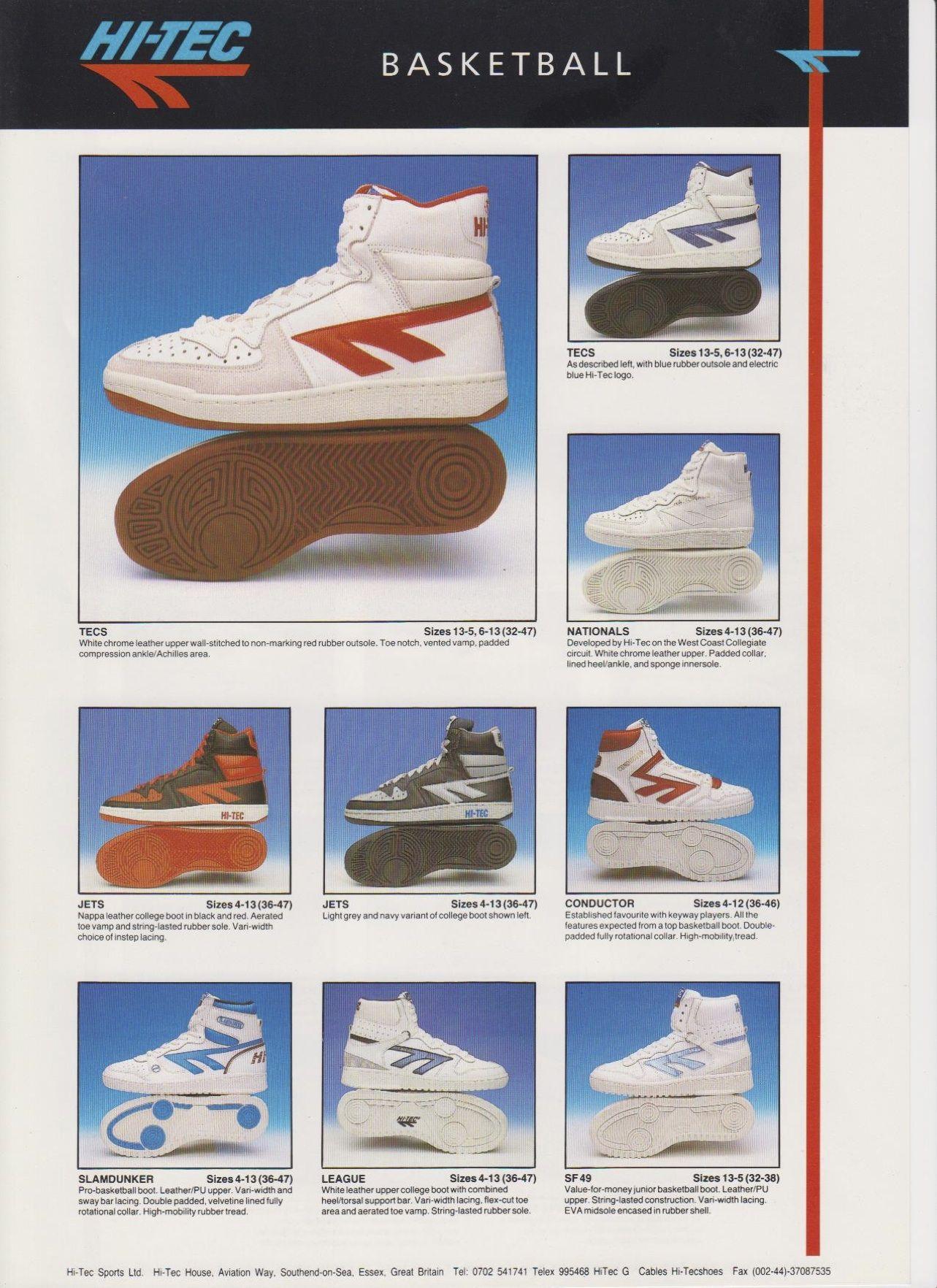 Vintage Hi Tecs | Classic sneakers