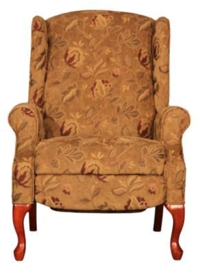 homemakers furniture wingback recliner lane upholstery living room recliners
