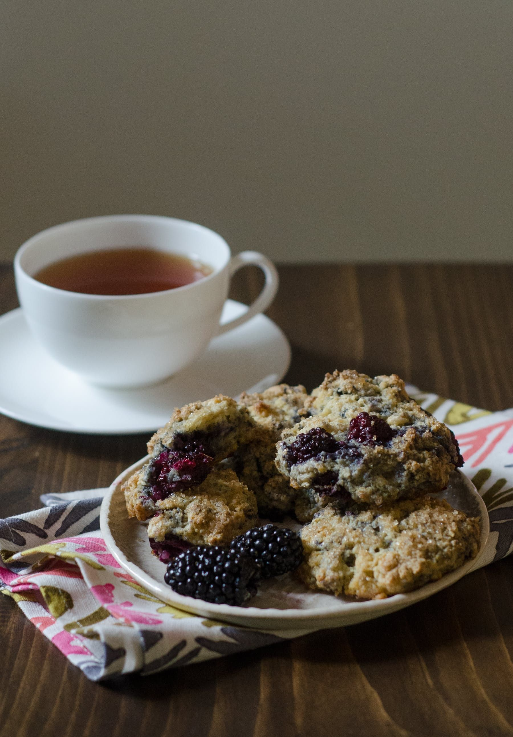 Morning Recipe: Blackberry Scones from The Big Sur Bakery Cookbook — Recipes…