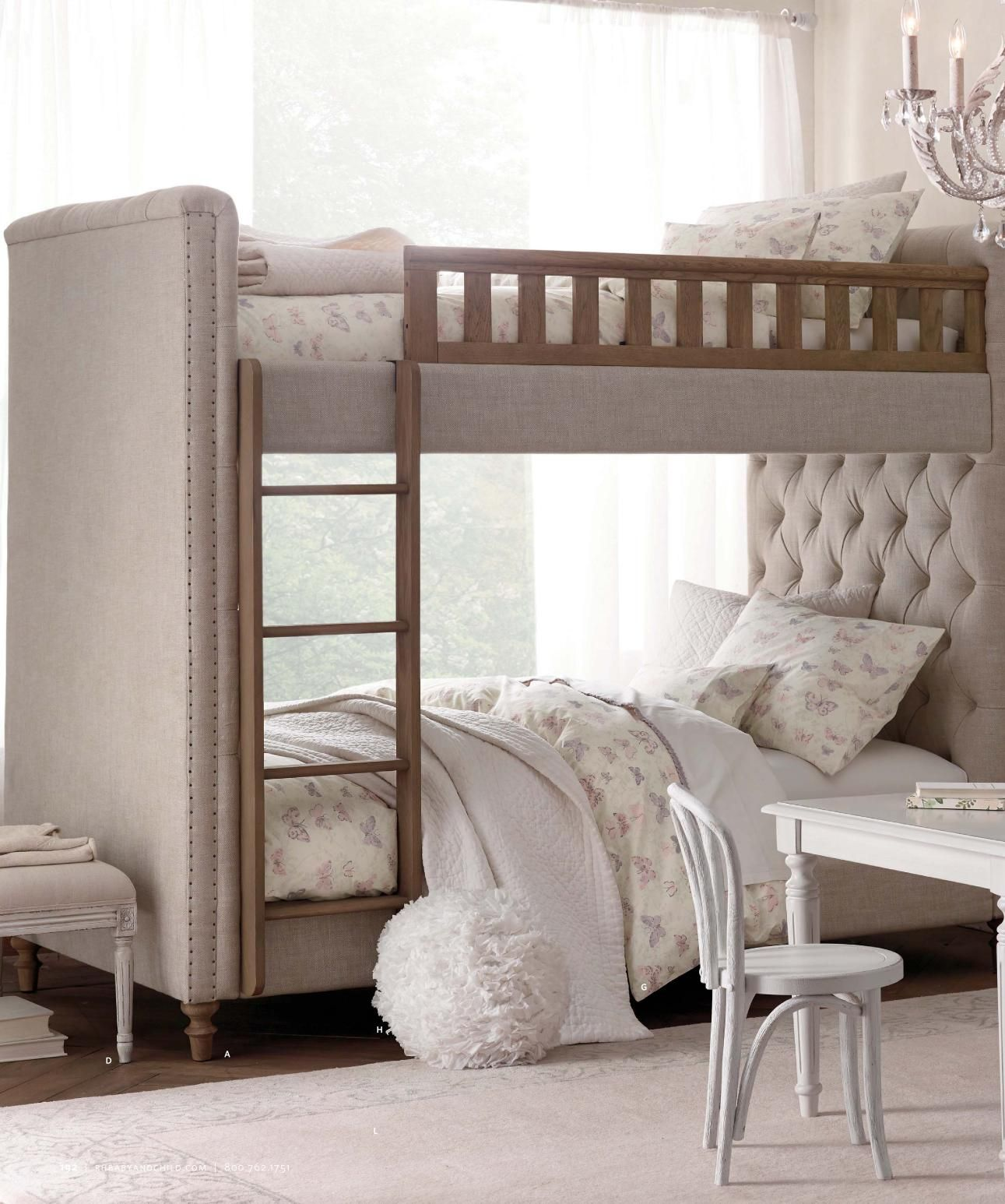 2014 Spring Catalog RH Baby & Child Bunk beds, Rustic