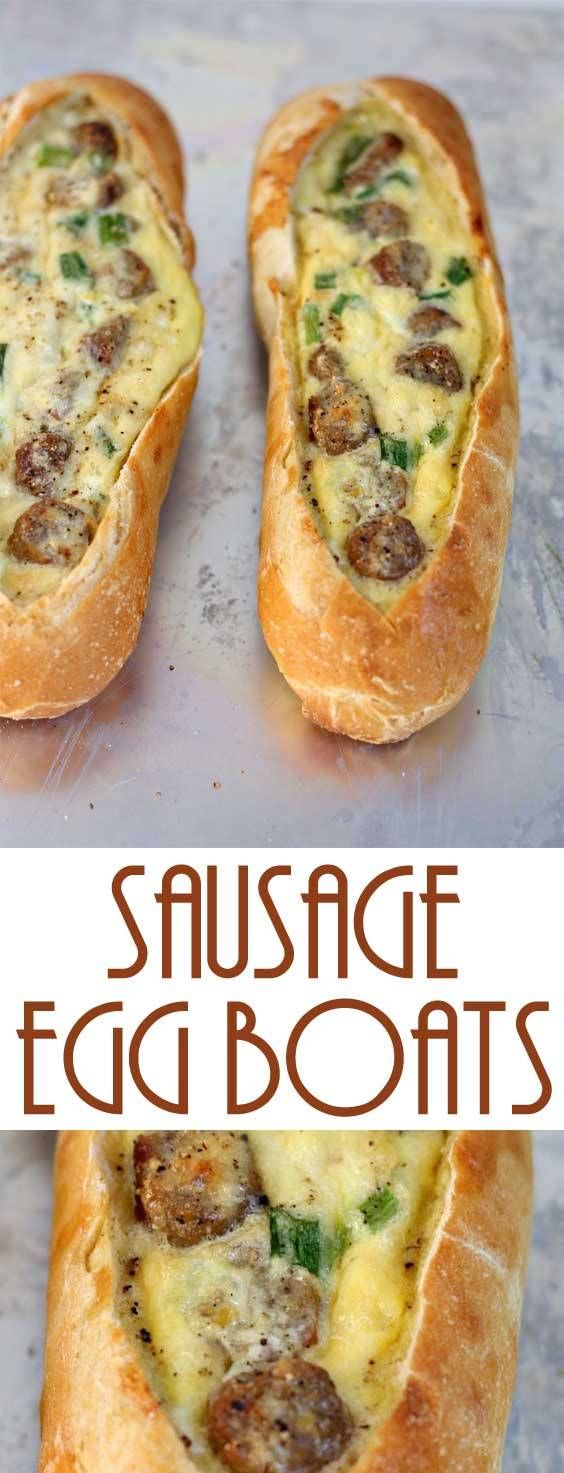 Sausage Egg Boats images