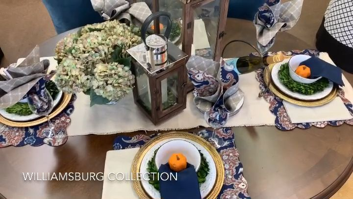 It's time to start planing our holiday tablescapes. Don't be left behind this year.😉 #tablescapes #tableware #thanksgivingtable #tablesettings #placemats #lanternshomedecor #diningtabledecor