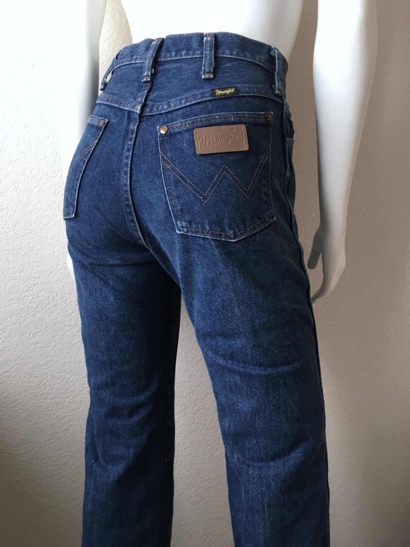 2c15a2d38f54 Vintage Women's 80's Wrangler, Jeans, Straight Leg, Denim (S) by  Freshandswanky on Etsy