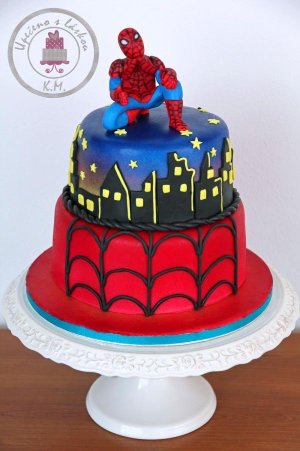 Souvent Spiderman Cake | Cake decor :-) | Pinterest | Spiderman, Cake and  XX37