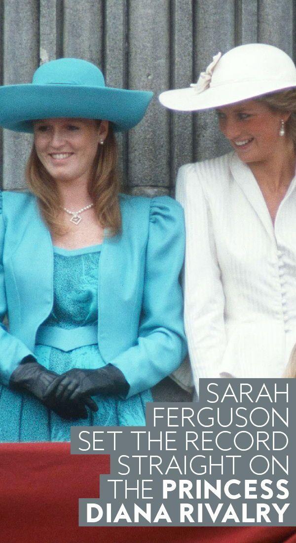 Sarah Ferguson Set Things Straight About that Princess
