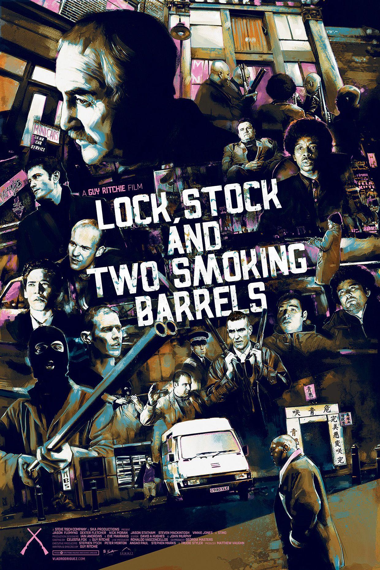 Vinnie Jones Lock Stock Great New Poster