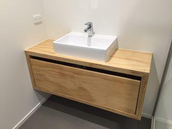 Bathroom Vanity Units New Zealand hand made plywood vanity | bathroom inspiration | pinterest