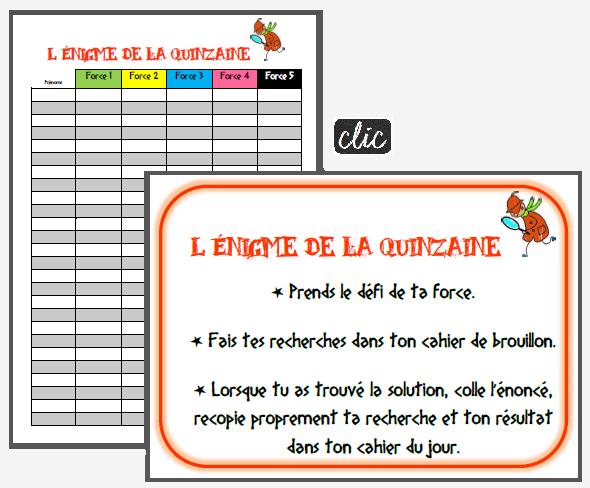 Les Enigmes Pour Placer Les Eleves En Situation De Recherche Jeux Mathematiques Ce2 Enigme Mathematique Enigme Maths