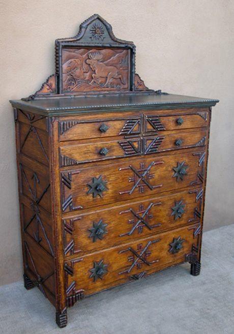 Adirondack style dresser make mine rustic rustic - Adirondack style bedroom furniture ...