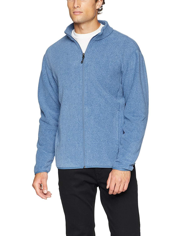 Amazon Essentials Men's Full Zip Polar Fleece Jacket | Jackets