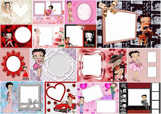 Betty Boop Free Printable Quinceanera Invitations Cards Or Photo Frames
