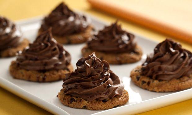 Docinhos de cookie com nutella