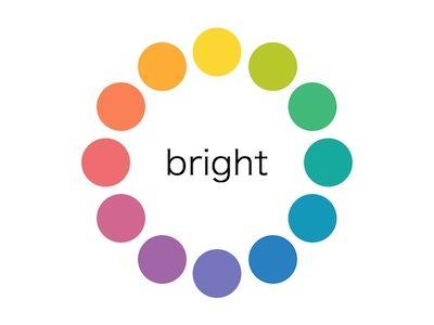色の基本 ブライトトーン キュートなカラーコーディネート 色 心理 色 色彩理論