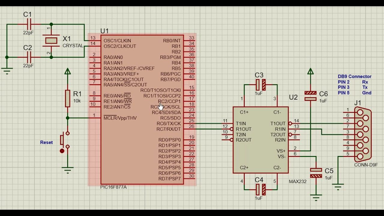 How to interface RS232 Serial Communication (USART) with