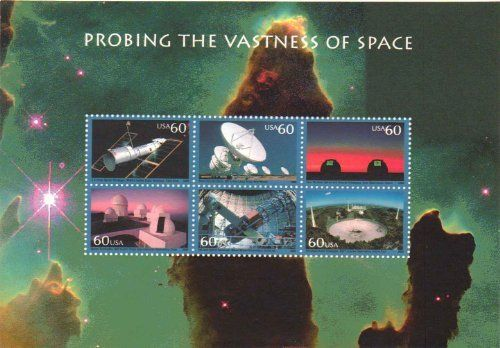 Probing the Vastness of Space 6 x 60 Cent U.S. Stamps 2 by USPS. $12.25. ition.