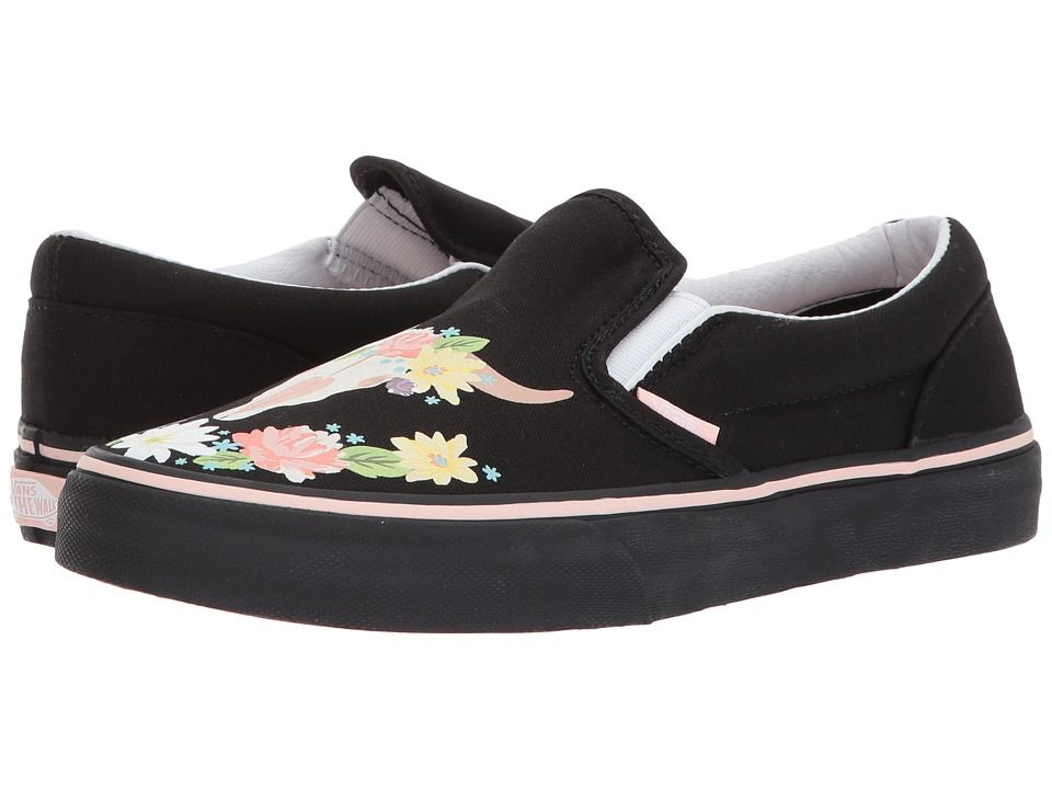 Vans Kids Classic Slip On (Little KidBig Kid) Girl's Shoes