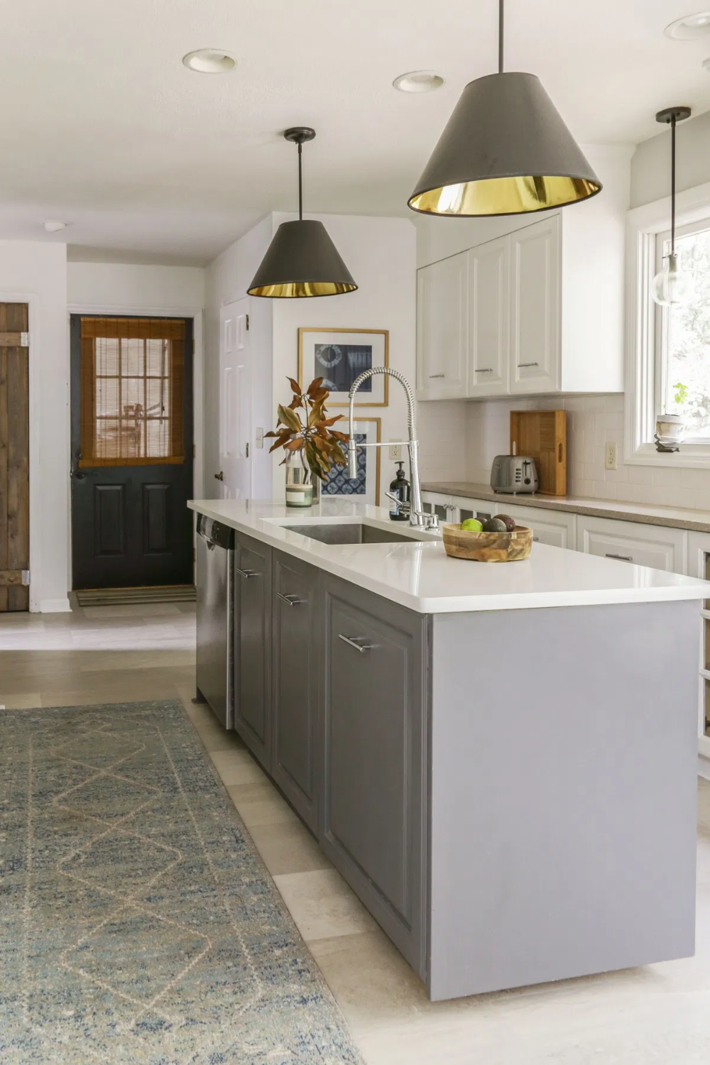 An Honest Review of My Milk Paint Kitchen Cabinets One ...