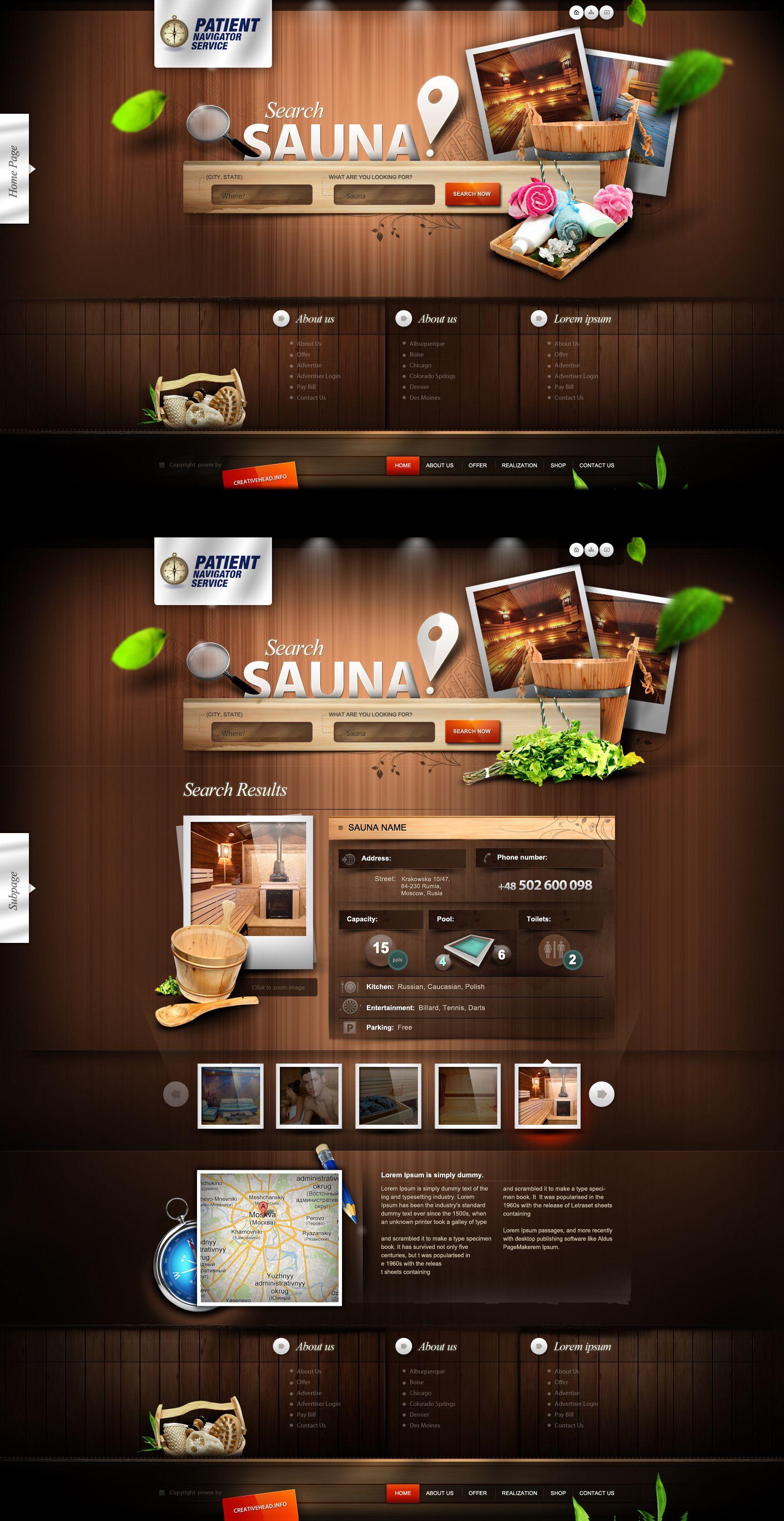Patient Navigator Service Sauna Website Ver2 By Webdesigner1921 Deviantart Com On D Website Design Wordpress Wordpress Web Design Wordpress Theme Design