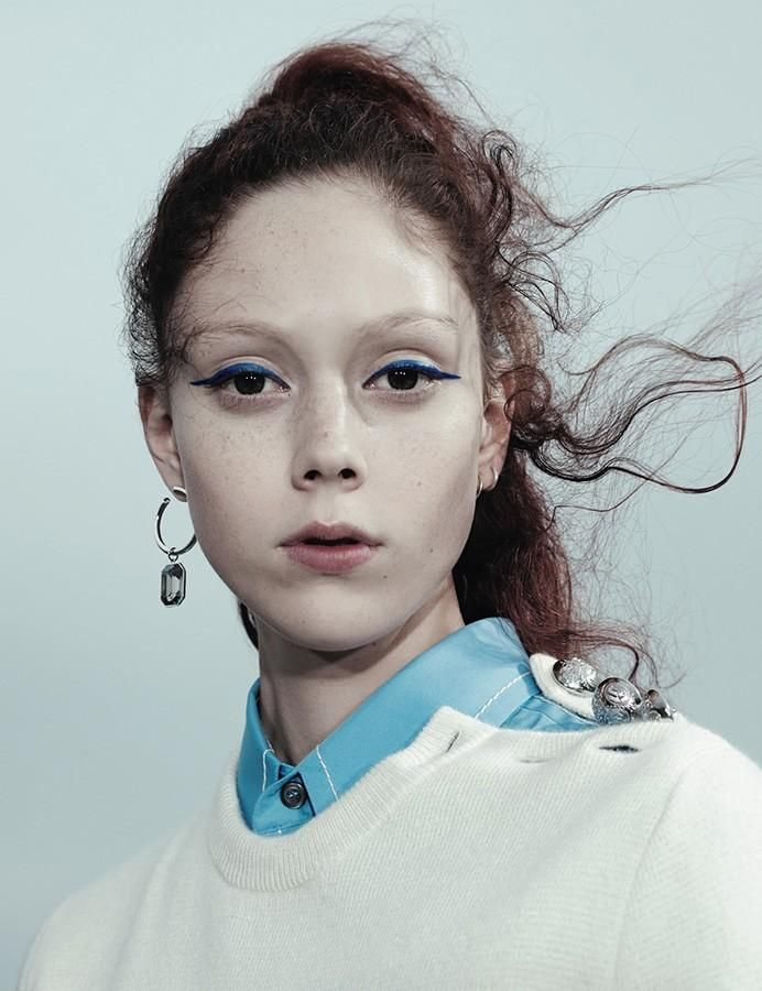 Photography Willy Vanderperre styling Olivier Rizzo (Another Magazine) Natalie Westling