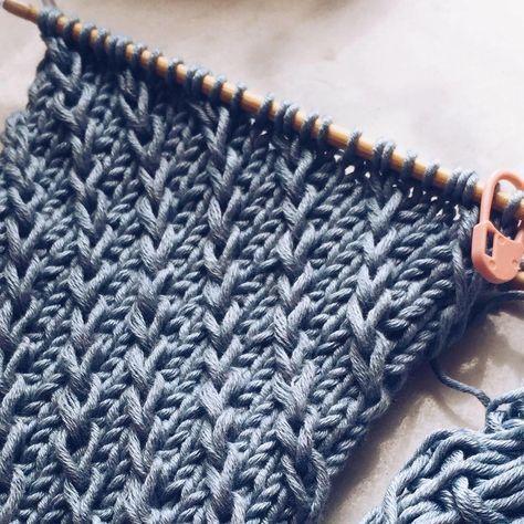 Photo of Rain. Textured sweater pattern