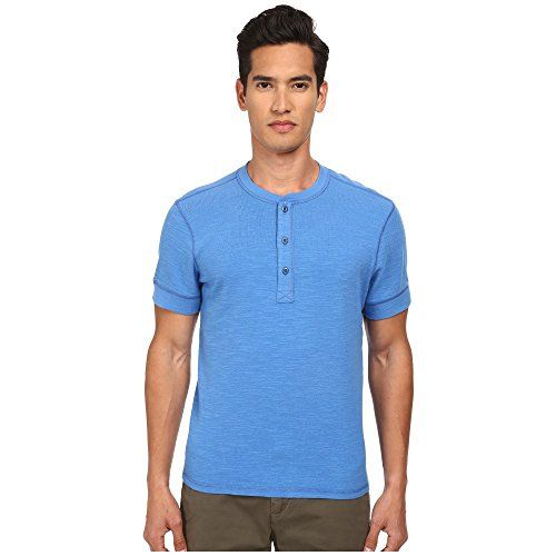 (ジャック スペード) Jack Spade メンズ トップス 半袖シャツ Colvin Short Sleeve Henley 並行輸入品  新品【取り寄せ商品のため、お届けまでに2週間前後かかります。】 表示サイズ表はすべて【参考サイズ】です。ご不明点はお問合せ下さい。 カラー:Strong Blue