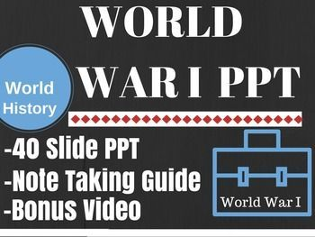 ww i powerpoint world war i lesson plans pinterest world war i
