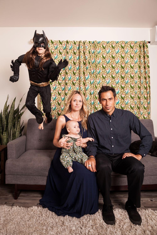 Awesome Unique Family Portrait Idea