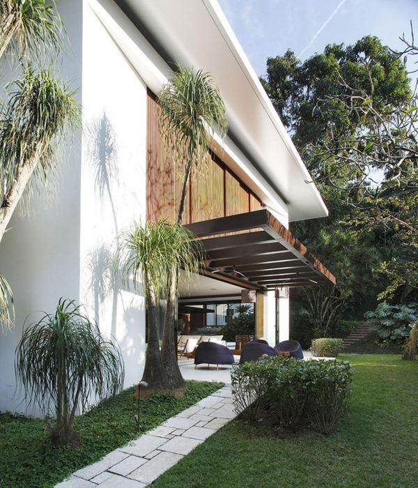 holz glas pergola designer Überdachte Terrasse Balkon - mediterrane terrassenberdachung