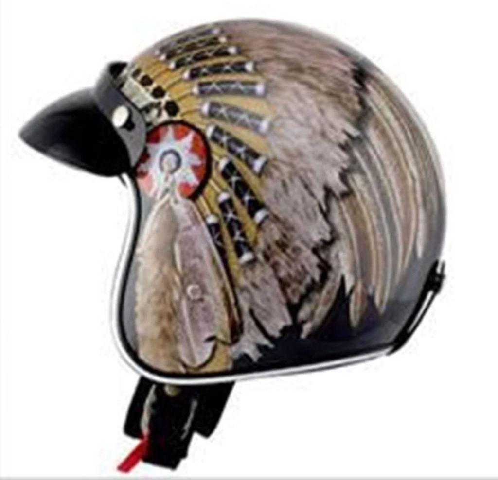 Native American Pride Helmet by Wanli