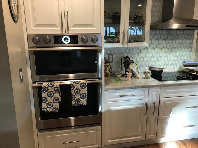smart microwave combination wall oven