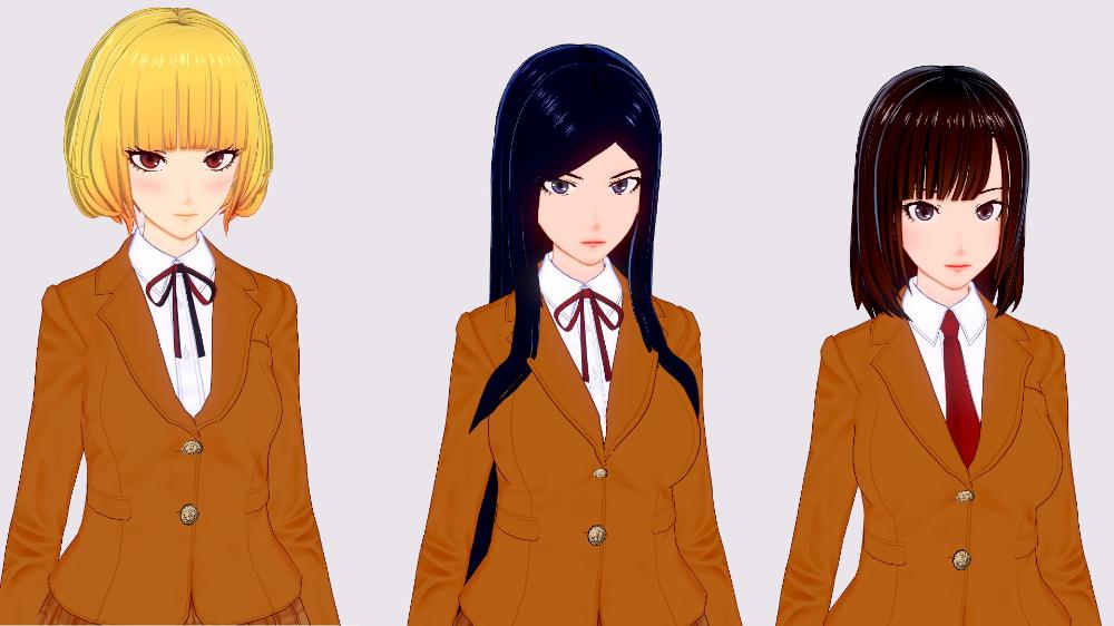 Anime Prison School Hana Midorikawa Mari Kurihara Chiyo