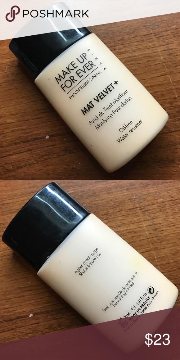 Makeup Forever Mat Velvet+ (Mattifying Foundation