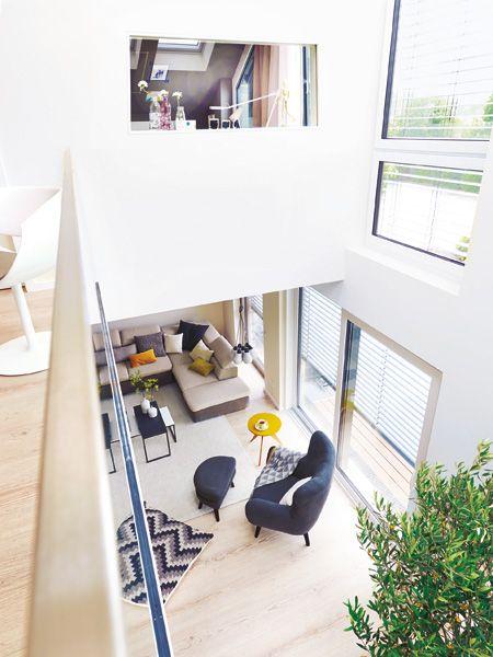 Highlight Des Wohnidee Hauses 2014 Ist Die Galerie Wohnidee Schmales Haus Einrichten Wohnen Haus Innenarchitektur