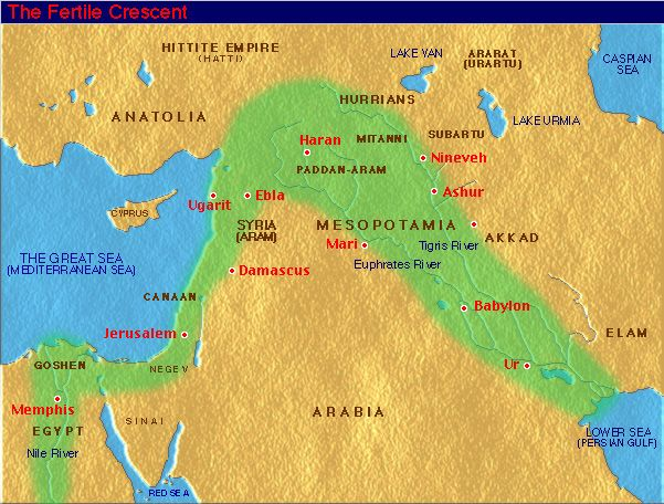 An article about the uses on the Fertile Crescent in ancient times